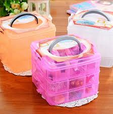 hair accessories organizer eco friendly makeup organizer three removable transparent plastic