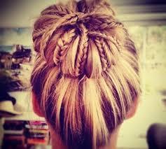 howtododoughnut plait in hair 5 ways to use braids in a sock bun the original mane n tail