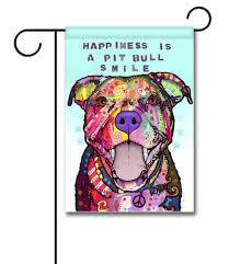 Yard Flags Wholesale Pit Bull Smile Garden Flag 12 5 U0027 U0027 X 18 U0027 U0027 Custom Printed