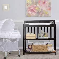 dream on me changing table white zoey 3 in 1 convertible changing table dream on me