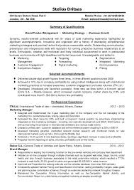 Sample Resumes Online by Marketing Manager Resume Sample Resume Of Online Marketing