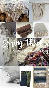 boho decor spring pillows and throws a designer at home