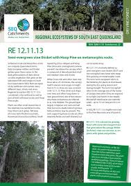 native plants south east queensland regional ecosystem 12 11 13 by healthy land and water issuu