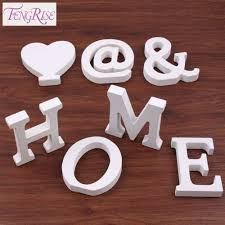 aliexpress com buy fengrise 8cm thick wood alphabet wooden white