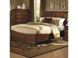 new classic sheridan queen bed w sleigh headboard great