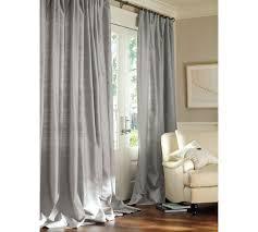 Silk Dupioni Curtains Silk Pole Pocket Drape Pottery Barn