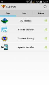 superuser update apk xolo root supersu as root app xolo q3000