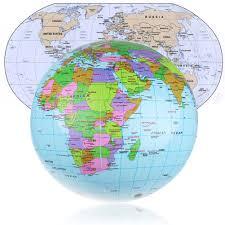 world map globe image 36cm earth world globe map educational