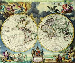 Large World Map Poster Old Maps Google Search Ideas Pinterest Antique Maps