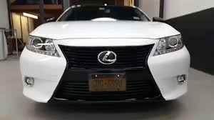 lexus is grill lexus es350 wrapped and tinted youtube