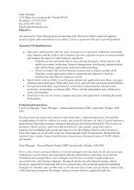 Sample Resume Objectives For Marketing Job by Sample Resume Objectives For Marketing Job