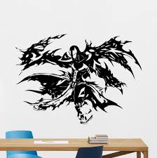 amazon com spawn wall vinyl decal marvel comics superhero wall