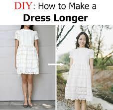 diy make a dress a longer length life is beautiful