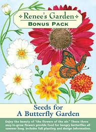 seeds for a butterfly garden u0027 bonus pack renee u0027s garden seeds