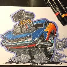69 camaro rod drawing a 69 camaro rod style timelapse
