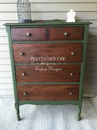 antique chest of drawers restyled by plantation chic using miss