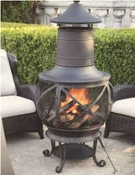 Steel Chiminea Chimineas Fire Pits And Custom Made Safety Screens Home