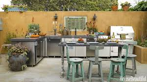 outdoor kitchens by design 25 cool and practical outdoor kitchen ideas 2017