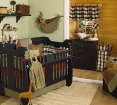 Northwoods Crib Bedding 3pc Northwoods Lodge Cabin Crib Bedding 110240 Cribbedding
