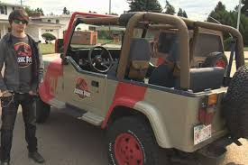 jurassic park car jurassic park jeep replicas turn heads in edmonton globalnews ca