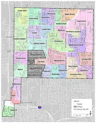 Dc Neighborhood Map City Of Gladstone