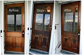 Exterior Wood Doors Lowes Wood Front Door Themodjo