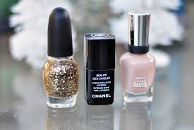chanel glitter gold nail polish image 273881 on favim com