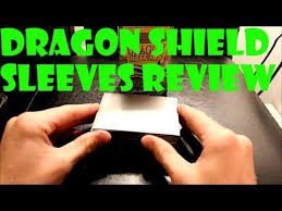 dragon shield card sleeves review magic sleeves