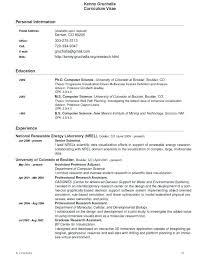 computer science resumes scientific resume template the best computer science resume sle