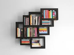 book wall rack home interior wall decoration