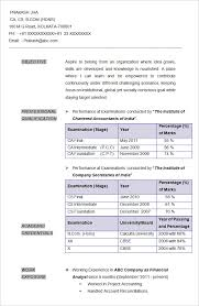 accounting resume template u2013 11 free samples examples format