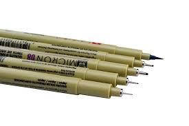 sketch fine liner sakura pigma micron pen 9 pens set 005 01 02 03