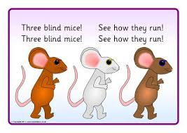 The Blind Mice Nursery Songs Teaching Resources U0026 Printables Sparklebox