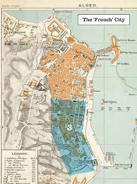 France Map Cities by File 1888 Plan Of Algiers Algeria The U0027french U0027 City Jpg