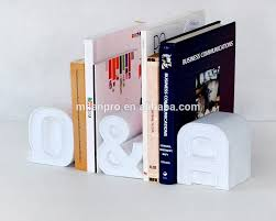 White Desk Accessories by Plastic Question U0026 Answer Bookend Office Book Stand White Desk
