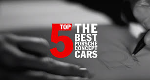 porsche concept cars porsche top 5 u2013 the best porsche concept cars bthinx