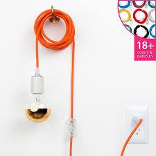 colored necklace cords images Plug in pendant light cord set classic color cord company jpg