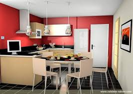 table de cuisine pratique cuisine en u avec table pratique la reste conviviale et