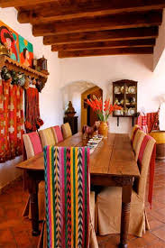 Mexican Style Home Decor Best 25 Mexican Dining Room Ideas On Pinterest Mexican Style