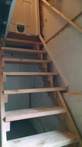 unsafe basement stair repair in cranford union county new jersey