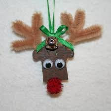 puzzle reindeer ornament puzzle pieces tree and