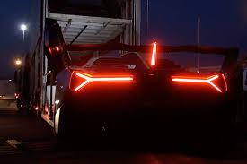 Lamborghini Veneno Dashboard - lamborghini veneno being loaded onto the truck in monza