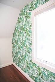 palm leaf temporary wallpaper video daily dose of charm