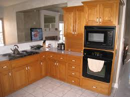 Kitchen Countertop Materials Kitchen Appliances Kitchen Color Ideas With Oak Cabinets And