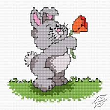 rabbit karol free cross stitch pattern free cross stitch