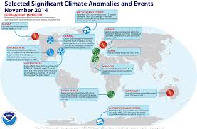 Europe Temperature Map by Global Climate Report November 2014 State Of The Climate