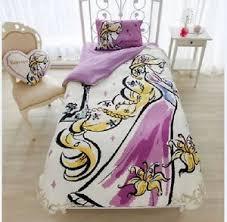 Tangled Bedding Set Disney Tangled Rapunzel Bed Bedding Cover Pillow Sheets Set Single