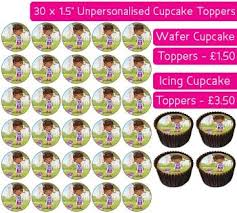 doc mcstuffins cupcake toppers edible cupcake toppers available on wafer paper or icing sheets