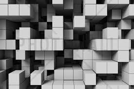 ag e murale bureau tetris light grey wall mural photo wallpaper photowall