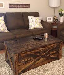 Rustic Coffee Tables With Storage - coffee table rustic trunk coffee table storage country coffee